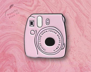 Instax Polaroid Camera Enamel Pin