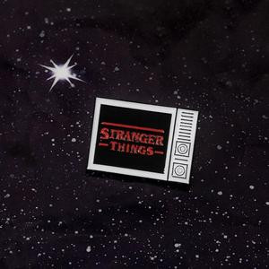 Stranger Things TV Logo Enamel Pin
