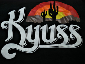 Kyuss - Logo - Test Backpatch