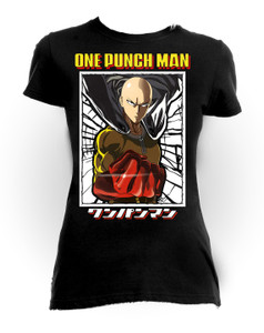 One Punch Man! - Girls Anime T-Shirt
