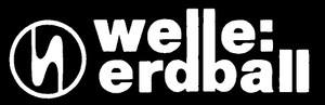 "Welle Erdball Logo 5x1.5"" Printed Sticker"