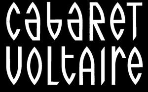 "Cabaret Voltaire Logo 5x3"" Printed Sticker"