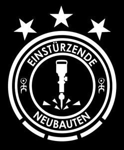 """Einsturzende Neubauten Logo 4x4"""" Printed Sticker"""