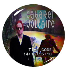 "Cabaret Voltaire - Time Code 1"" Pin"