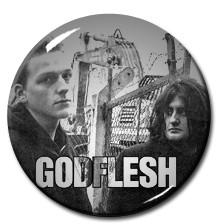 "Godflesh - Band 1"" Pin"