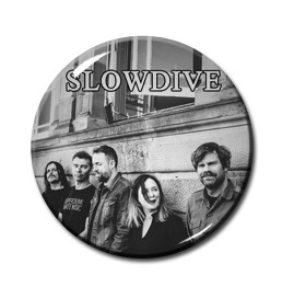 "Slowdive - Band 1"" Pin"