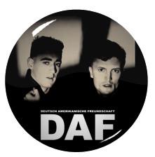 "Deutsch Amerikanische Freundschaft - DAF 1.5"" Pin"