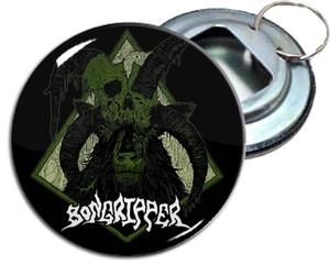 "Bongripper 2.25 "" Metal Bottle Opener Keychain"
