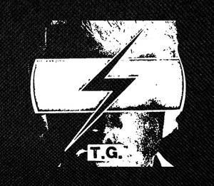 "Throbbing Gristle - T.G. 5x3"" Printed Patch"