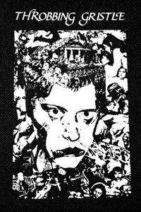 "Throbbing Gristle - Portrait 3x5"" Printed Patch"