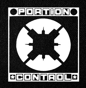 "Portion Control 4x4"" Printed Patch"