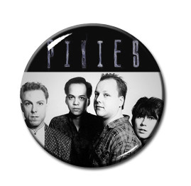 "The Pixies - Band 1"" Pin"