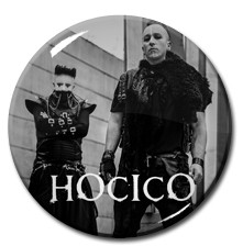 "Hocico Duo 1"" Pin"