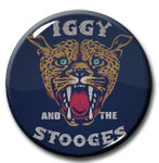 "Iggy and the Stooges - Leopard 1"" Pin"