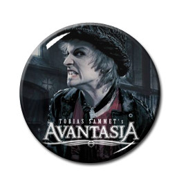 "Tobia's Sammet Avantasia 1.5"" Pin"