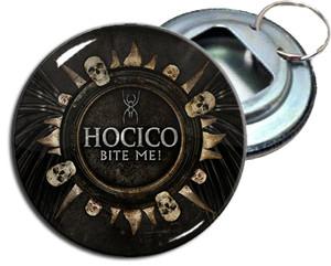"Hocico - Bite Me! 2.25"" Metal Bottle Opener Keychain"