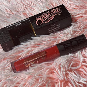 Valor Red Vegan Matte Lipstick