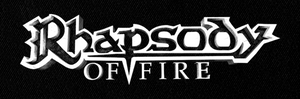"Rhapsody Of Fire 7x3"" Printed Patch"