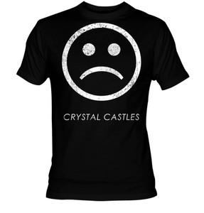 Crystal Castles Sad Face T-shirt