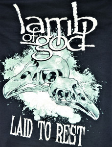 Lamb of God - Laid To Rest - Test Backpatch