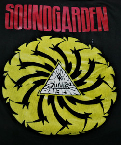 Soundgarden - Bad Motorfinger - Test Backpatch