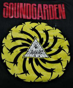 Soundgarden Bad Motorfinger - Test Backpatch