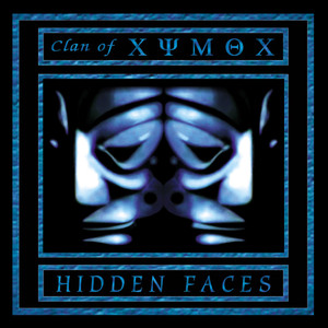 "Clan of Xymox - Hidden Faces - 4x4"" Color Patch"