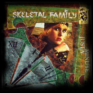 "Skeletal Family - Just a Minute- 4x4"" Color Patch"