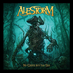 "Alestorm - No Grave but The Sea - 4x4"" Color Patch"