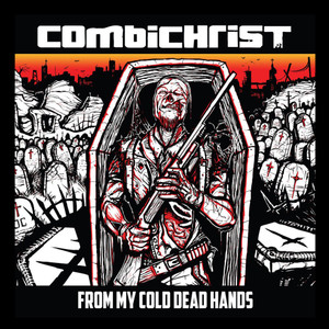 """Combichrist - From My Cold Dead Hands 4x4"""" Color Patch"""
