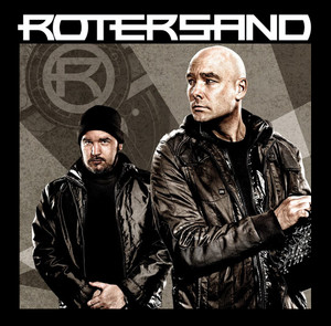 "Rotersand - Band 4x4"" Color Patch"