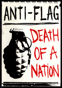 "Antiflag - Death Of a Nation 4x5"" Color Patch"