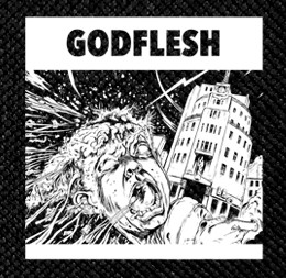 "Godflesh - Monument 4x4"" Printed Patch"