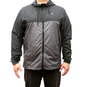 Raptor III Gray Windbreaker