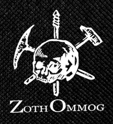 "Zoth Ommog - Skull & Daggers 4x4"" Printed Patch"