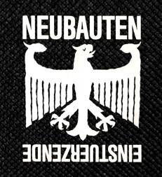 """Einstürzende Neubauten - Fünf Auf Der Nach Oben Offenen 4x4"""" Printed Patch"""