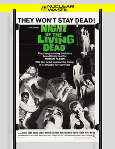 "The Night of the Living Dead 12x18"" Poster"