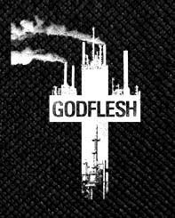 "Godflesh - Cross 4x4.5"" Printed Patch"