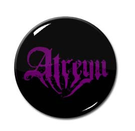 "Atreyu - Purple Logo 1.5"" Pin"