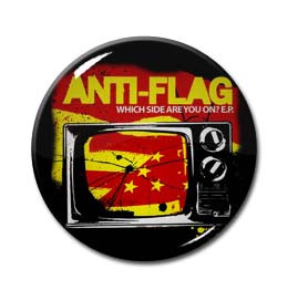 "Anti Flag - Which Side Are You On? 1.5"" Pin"