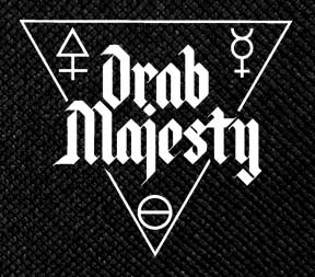 Drab Majesty - Logo 4.5x5 Printed Patch
