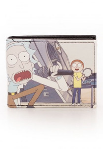 Rick and Morty - Get Shwifty Bi-Fold Wallet