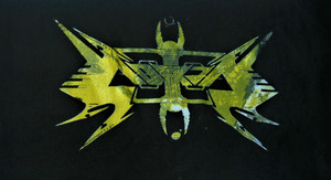 Vektor - Yellow Logo - Test Backpatch