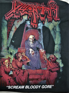 Death - Scream Bloody Gore- Test Backpatch