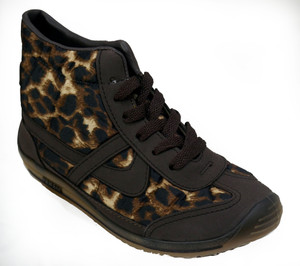 Panam - Leopard Print Booties