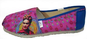 Panam - Frida Kahlo Pink Flats