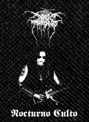 "Darkthrone - Nocturno Culto 3.5x5"" Printed Patch"