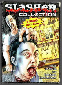 Slasher Collection - 2 DVD's 5 Films of your favorite HORROR Movies