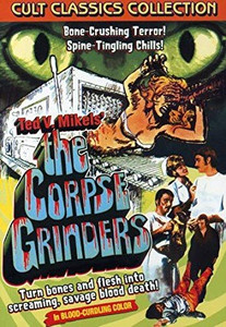 The Corpse Grinders (1971) Comedy Horror DVD