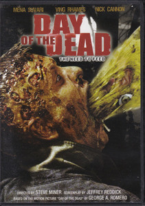 Day of the Dead: The Need To Feed 2008 DVD Horror Movie